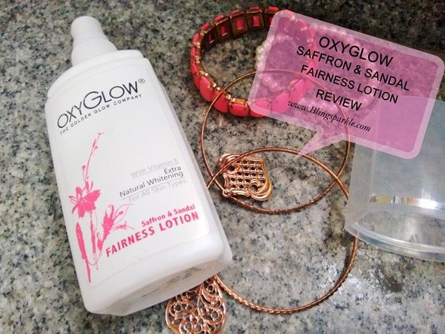 oxyglow SAFFRON & SANDAL cream