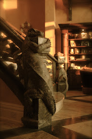 Architecture, Gallery, Interior, Lizard, Marble, Newel Posts, Reptile, Staircases, Stairs