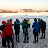 Wintertraing met sneeuw. 4 FEBRUARI 2012