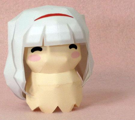 Idolmaster Papercraft Tako Takane Shijou