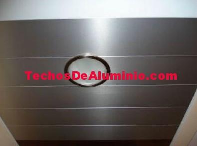 Techos aluminio San Blas