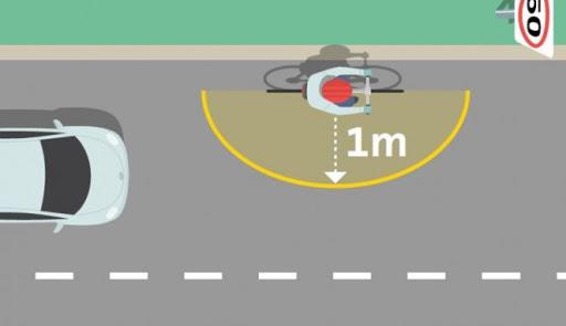 Di New South Wales Mengendarai Mobil Dengan Jarak Kurang 1 Meter Dari Pengendara Sepeda Di Denda Rp3 Juta