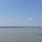 Heiß mit 36 Grad war es am Neusiedler See