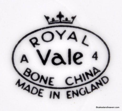 ROYAL VALE Back Stamp