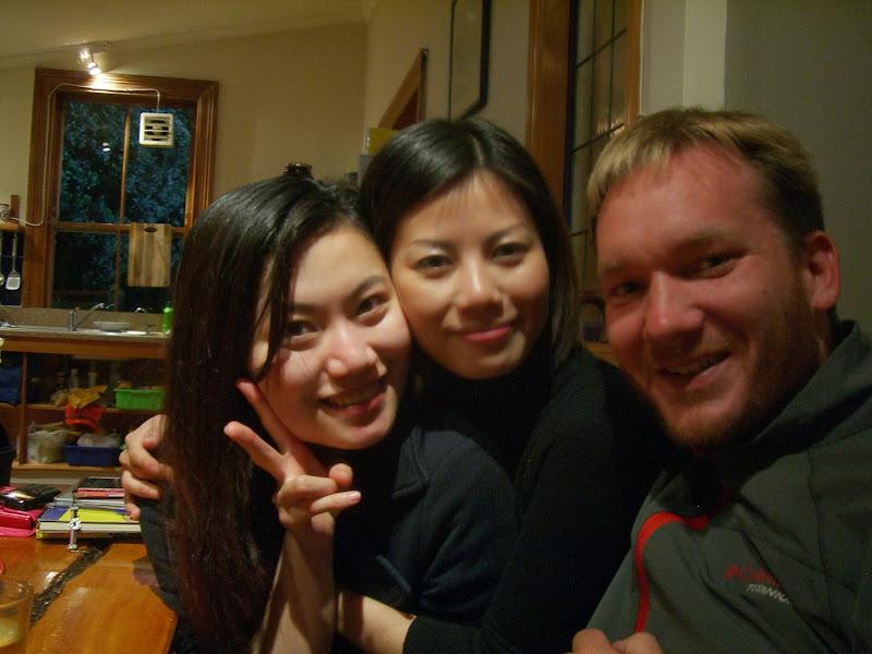Die Asiatische Fraktion im Hostel
