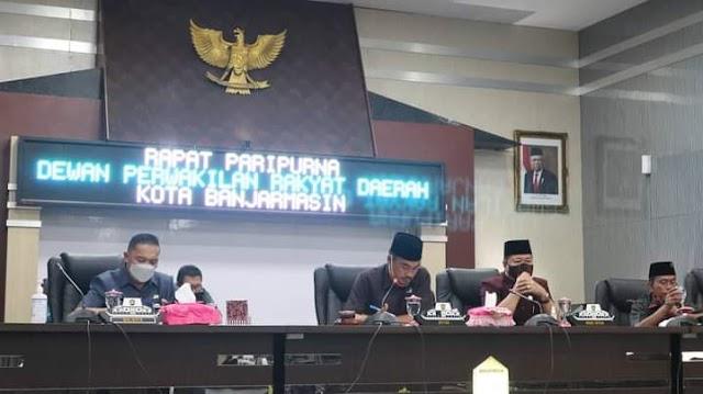 DPRD Gelar Paripurna Penyampaian LKPj Walikota TA 2020