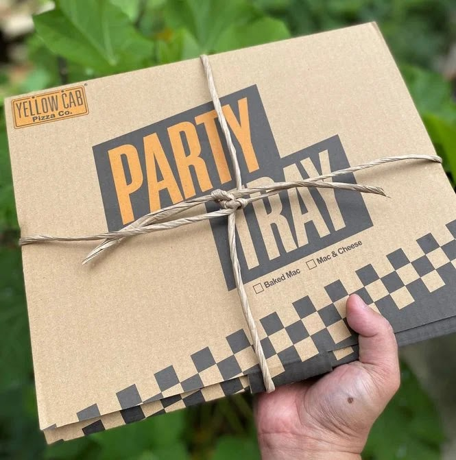 Yellow Cab Pasta Party Tray delivery