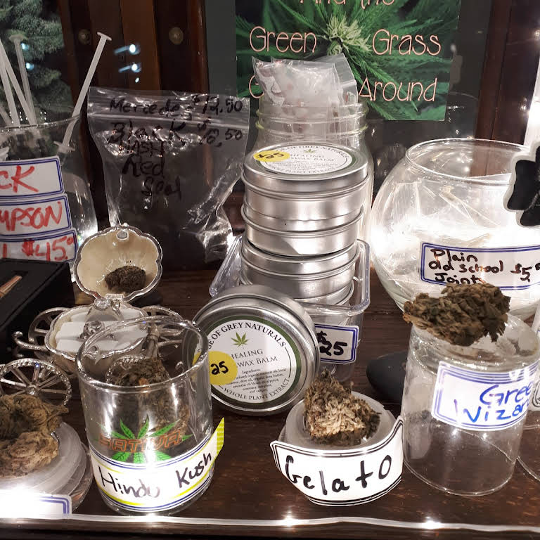 To Greener Grass Dispensary - Cannabis Store in Roseneath