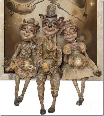 Muñecas de Nadezhda Sokolova Djembe  (3)