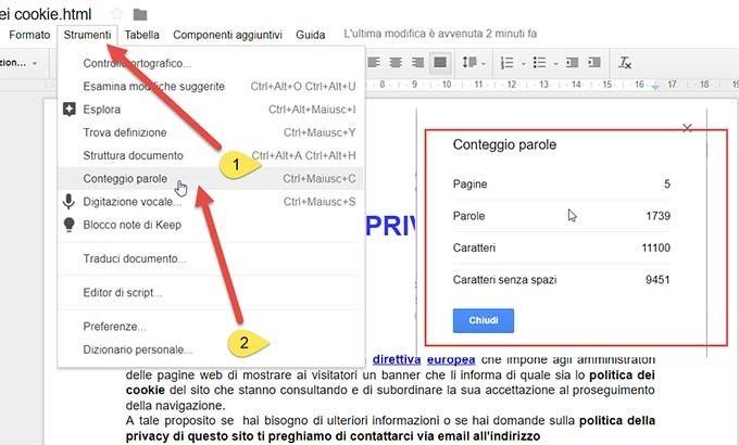 conteggio-parole-google-drive