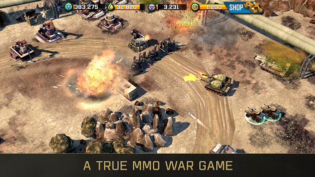 War Commander: Rogue Assault APK screenshot thumbnail 8