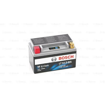 Bosch MC Li-Ion batteri 210CCA LTX12-BS LION YTX12