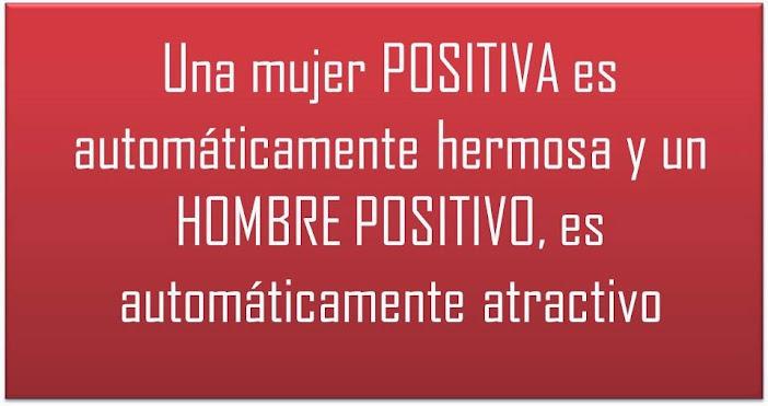 Una mujer positiva