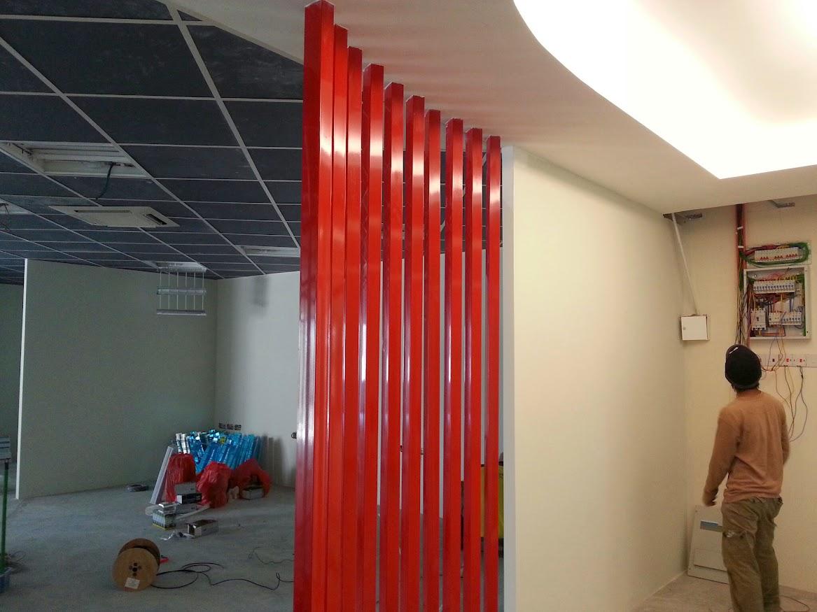 ms pole at entrance