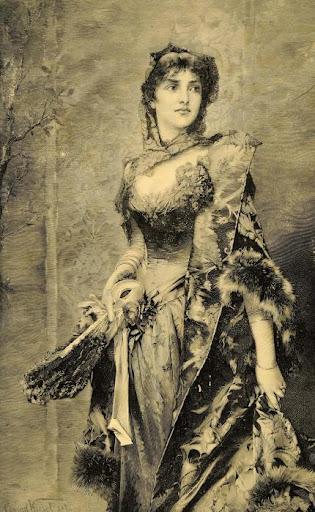 Conrad Kiesel - Woman Portrait