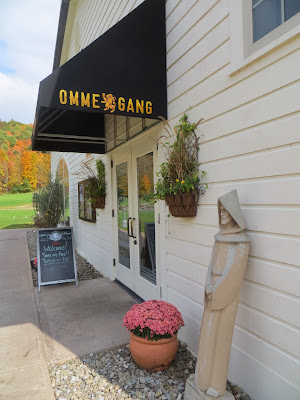 Entrance to the Ommegang Visitor's Center, which includes the shop, where you can start tours, and Cafe Ommegang for lunch or dinner dining