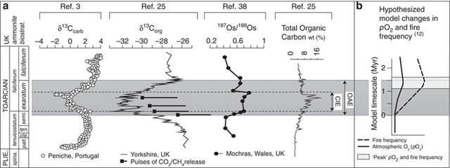 Jurassic drop in ocean oxygen lasted a million years