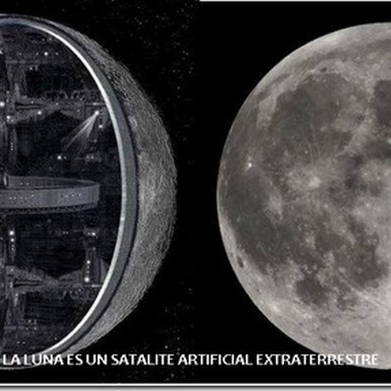 la Luna es una Nave Espacial Extraterrestre
