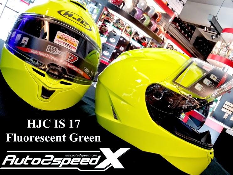 หมวกกันน็อค,HJC,Helmet,IS17,FLUORESCENT GREEN