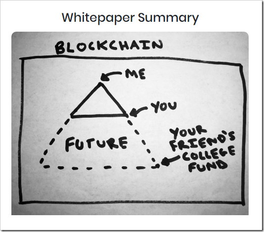 cryptocurrency whitepaper summary