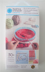 The Knit & Weave Loom Kit, which includes three project patterns.