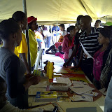 DAC booth at Youth Symposium