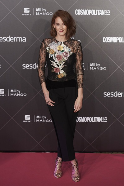 Ana Maria Polvorosa attends the VIII Cosmopolitan Fun Fearless Female Awards