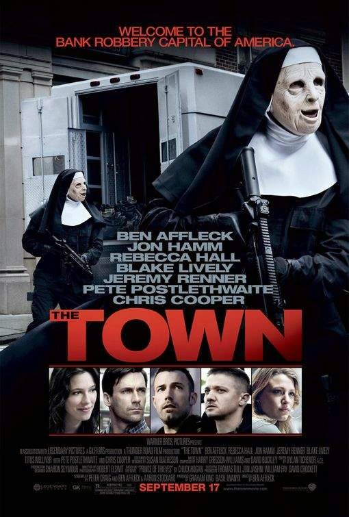 Poster Of The Town (2010) Full Movie Hindi Dubbed Free Download Watch Online At alldownloads4u.com