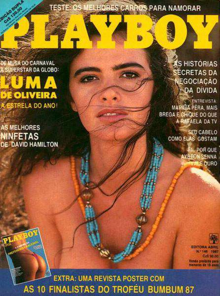 Luma de Oliveira - Playboy 1987