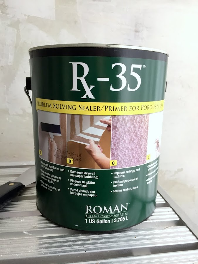 how to seal damaged drywall