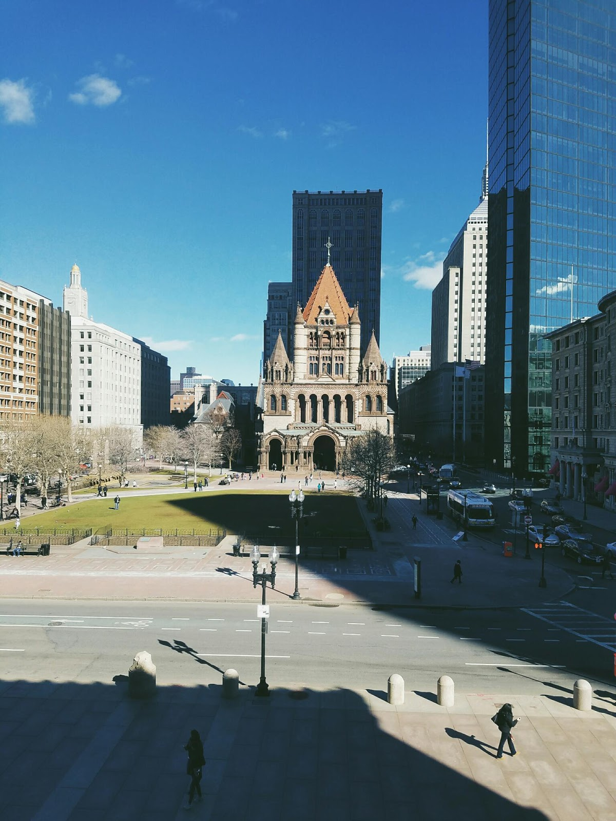 Courtney Tomesch Boston Day 4: Copley Square, Boston Public Library