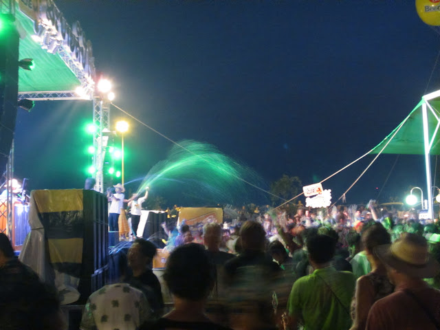 Концерт, Сонгкран, праздник воды, лаос, столица Лаоса