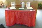 Our tables with information readied