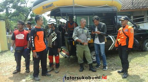 Korban Tenggelam Sungai Cimandiri Berhasil Ditemukan