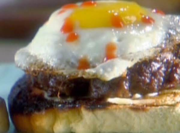 Sunny Anderson's Sunny Side Up Burger Recipe