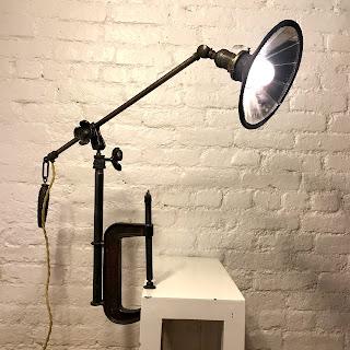 Robert Ogden Clamp Lamp