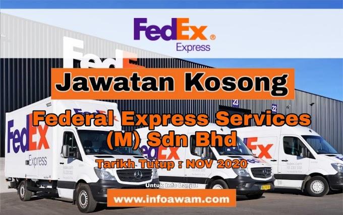 Jawatan Kosong Terkini Di Federal Express Services (M) Sdn Bhd