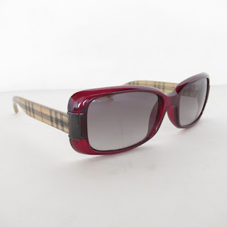 Burberry Check Arm Sunglasses