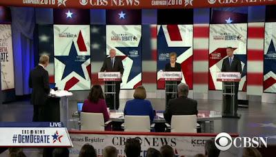 Democratic presidential debate chatter