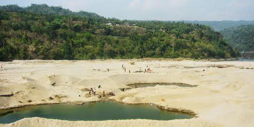 Sand at Jaflong