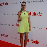 WWW.ENTSIMAGES.COM -   Lauren Pope   at  Attitude Magazine's World's Sexiest Men 2013 - summer party Takes place in The Carbon bar. The Cumberland Hotel,  London July 18th 2013                                                   Photo Mobis Photos/OIC 0203 174 1069