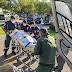 NOTAER e SAMU resgatam vítima de acidente automobilístico em Santa Maria de Jetibá