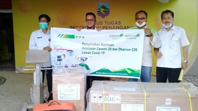 Adaro Grup Bantu Ventilator Untuk Tangani COVID-19 di Kotabaru