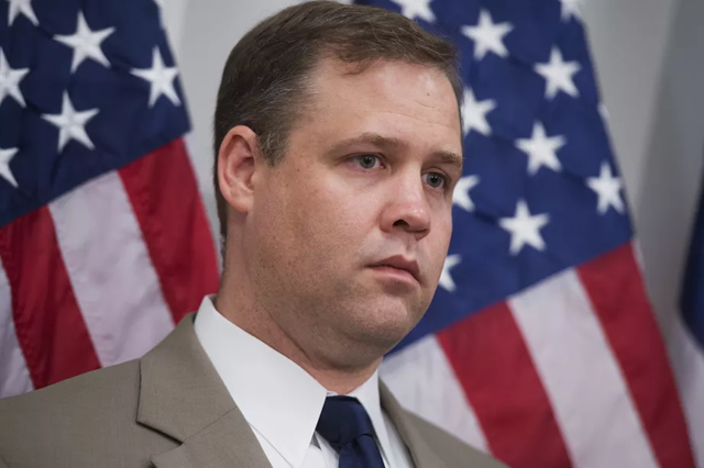 Trump's new NASA administrator, Jim Bridenstine, a Republican Congress member from Oklahoma. He has no background in space science. Photo: Tom Williams / CQ Roll Call