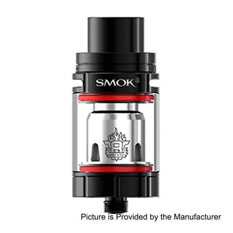 authentic-smoktech-smok-tfv8-x-baby-sub-ohm-tank-atomizer-black-stainless-steel-4ml-245mm-diameter-standard-version