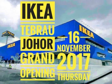 GRAND OPENING IKEA TEBRAU JOHOR BAHRU