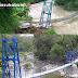 Jembatan Nyaris Roboh Penghubung 4 Kampung di Sukabumi Dibangun Methodist 90 Go Charity