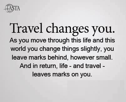 Travel changes