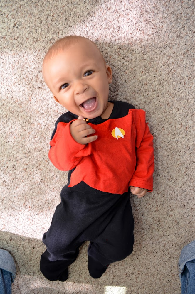 Baby Picard costume  sc 1 st  Jason Morrison : 6 month old halloween costumes  - Germanpascual.Com