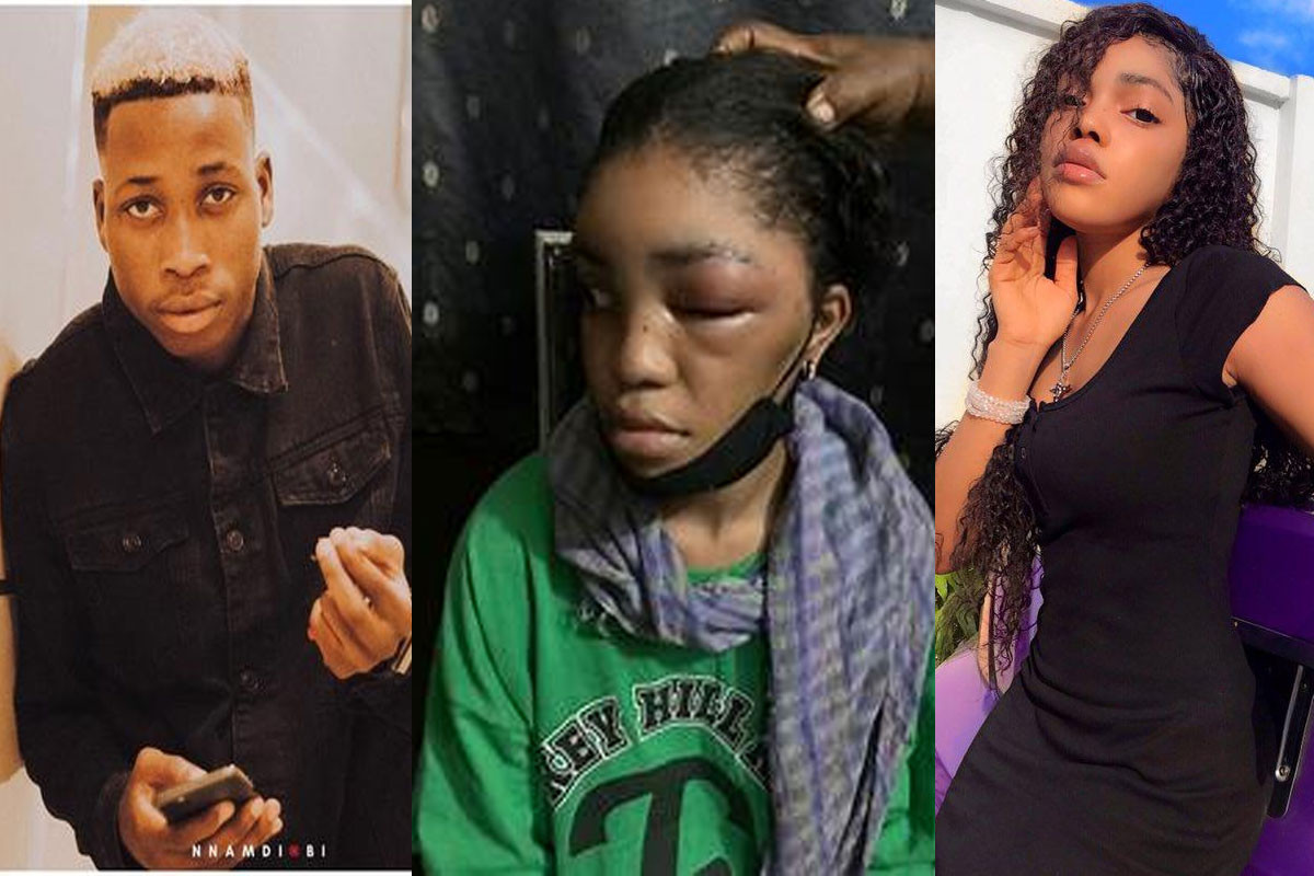 Lil Frosh said he will kill me and I'll die for nothing, and Davido will get him out of it - Singer's ex-Girlfriend, Gift alleges (videos)